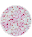 Simply Mini Pink and White Marshmallows