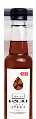 Simply Sugar Free Hazelnut Syrup