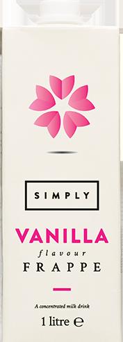 Simply Vanilla Frappe Liquid