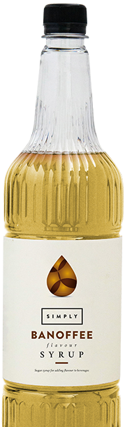 Simply Banoffee Syrup
