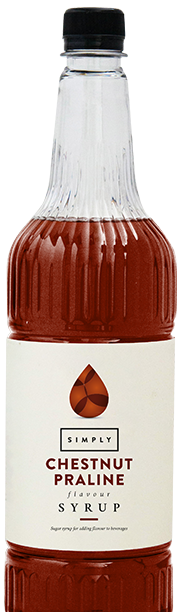 Simply Chestnut Praline Syrup
