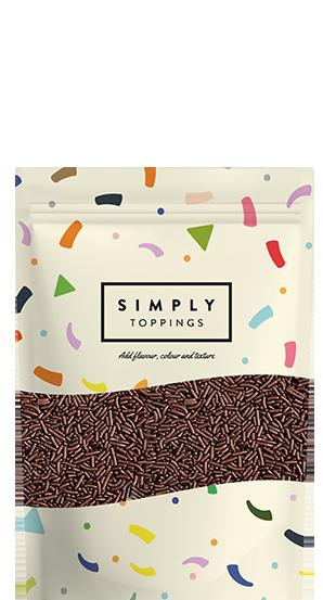 Simply Chocolate Sugar Strands