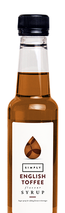 Simply English Toffee Syrup