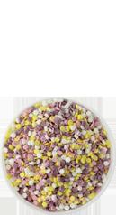 Four Colour Flower Sprinkles