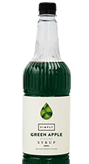 Simply Green Apple Syrup