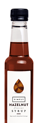 Simply Hazelnut Syrup