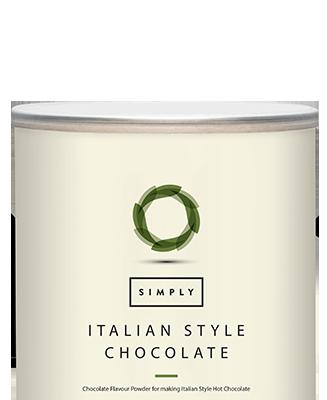 Simply Italian Style Chocolate Powder