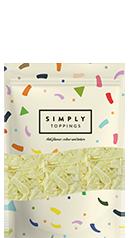 Simply White Chocolate Flakes
