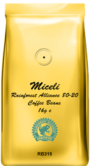 Miceli Rainforest Alliance Beans
