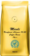 Miceli Rainforest Alliance 80-20 Coffee Beans