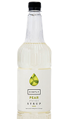 Simply Pear Syrup
