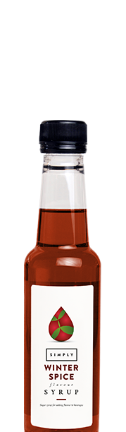 Simply Winter Spice Syrup