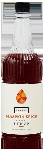 Simply Pumpkin Spice Syrup