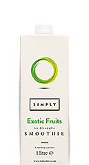 Simply Exotic Fruits Smoothie