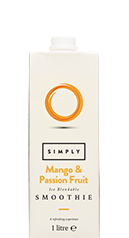 Simply Mango & Passion Fruit Smoothie