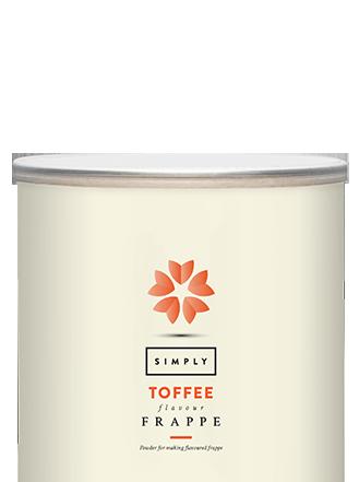 Simply Toffee Frappe Powder