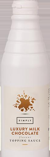 Simply Luxury Milk Chocolate Topping Sauce