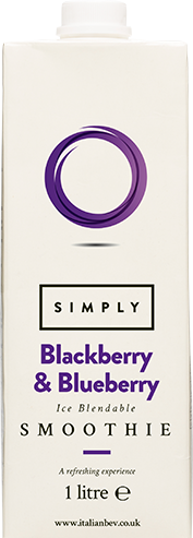 Simply Blackberry & Blueberry Smoothie