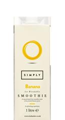 Simply Banana Smoothie
