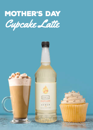 Mother's Day Cupcake Latte