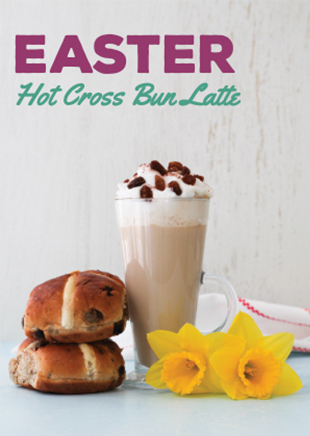 Hot Cross Bun Latte