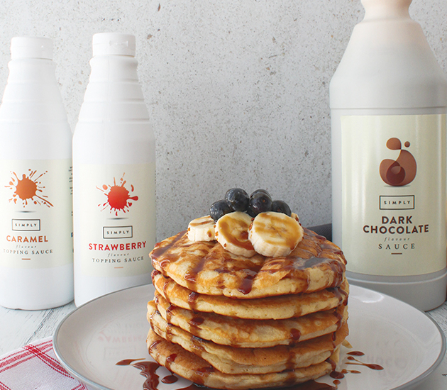 Simply Sauces perfect for pairing with Pancakes
