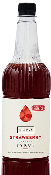 Simply Sugar Free Strawberry Syrup