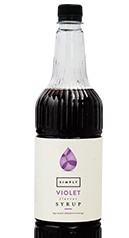 Simply Violet Syrup