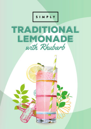 Simply Traditional Lemonade with Rhubarb