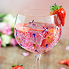 Summer Spritz with Simply Rose Syrup