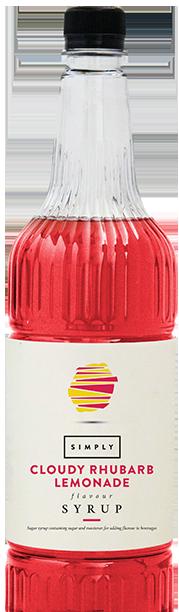 Simply Cloudy Rhubarb Lemonade Syrup