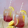Simply Traditional Lemonade with Violet