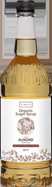 Simply Organic Almond Syrup