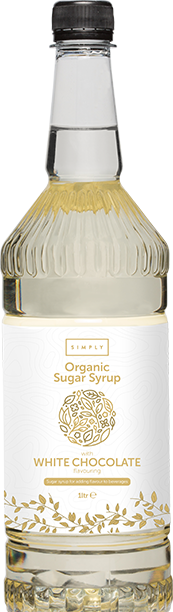 Simply Organic White Chocolate Syrup