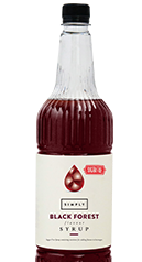 Simply Sugar Free Black Forest Syrup
