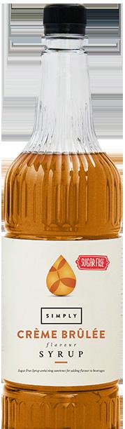 Simply Sugar Free Crème Brûlée Syrup