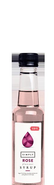 Simply Sugar Free Rose Syrup