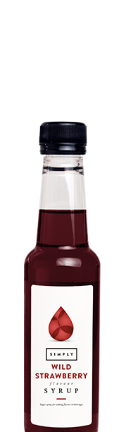 Simply Wild Strawberry Syrup