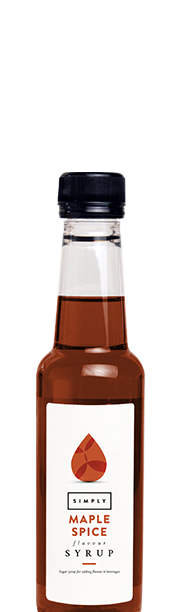 Simply Maple Spice Syrup