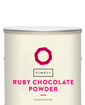 Simply Ruby Chocolate Drinking Powder