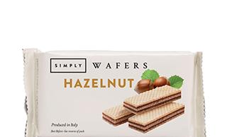 Simply Hazelnut Wafers