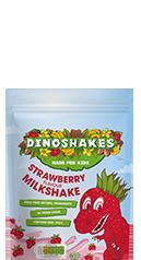 Dinoshakes Strawberry Milkshake Powder