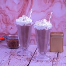 Simply chocolate milkshakes