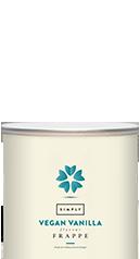 Simply Vegan Vanilla Frappe Powder