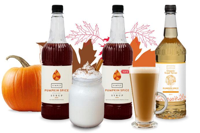 Pumpkin Spice latte and frappe